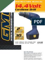GMC BN144Cordless Manual