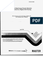 H.E. Lorenzana et al- Novel High Energy Density Materials