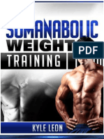 Somanabolic Weight Training