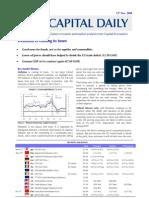 Capital Daily (13th Nov 08)