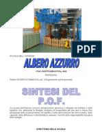 POF 2011.2012 Albero Azzurro Manfredonia