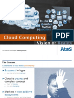 Cloud Computing Vision or Reality