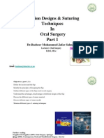 Incision Designs & Suturing Technique in Oral Surgery-part-1