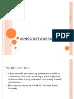 Adhoc Networks 2