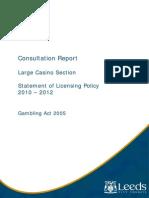 Post Consultation Large Casino