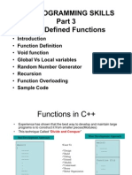 Part 3 Functions