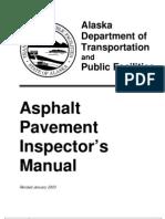Asphalt Inspectors Manual