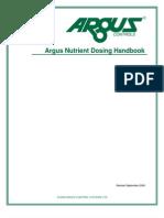Argus Nutrient Dosing Handbook