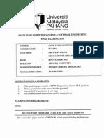 Bcn1043 - Computer Architecture & Organization