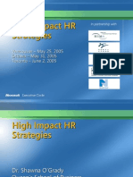 High Impact HR Strategies