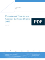 $Doe Emissions of GHG in the US 2009