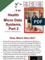 40. HMDS, part 2