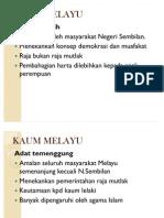 Kaum Melayu (Budaya) Present