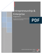 Entrepreneurship and Enterprise