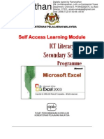Excel Self Learning