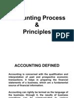 Accounting Process and Principles