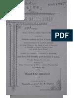 Ștefan Mihăileanu -  Școala și biserica romaneasca din Ochrida (Extract din Primul Almanah Macedo-Roman, Constanta, 1900)