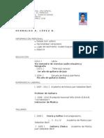 Curriculum Hernaldo