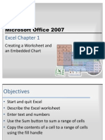 Excel Chapter 1