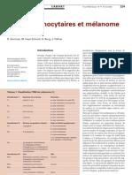 Naevi mélanocytaires et mélanome