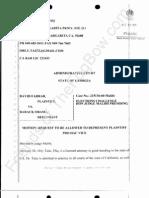 2011-11-28 FARRAR - Farrar Motion for Taitz Pro Hac Vice