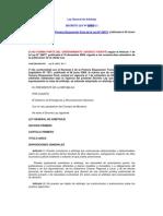 Ley General de Arbitraje 25925