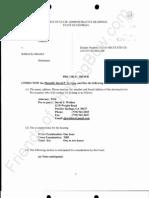 2011-12-09 WELDEN - Welden Proposed Pre-Trial Order