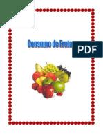 Consumo de Frutas