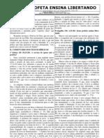 COMENTÁRIO BÍBLICO PARA O 4° DOMINGO COMUM - Ano B
