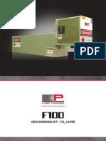F100 Brochure - Laser Photonics - 407-829-2613