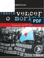 PRT-ERP - ¡Hasta vencer o morir! Documentos del PRT-ERP [2010]