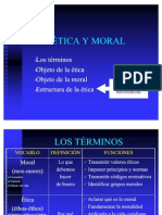 Ética y moral. Estructura3