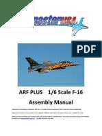 Arf Plus 16 F-16 Manual