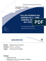 Taller ISA 20