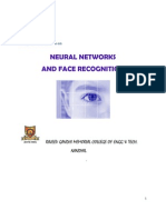 Neural Networks & Face Recognition