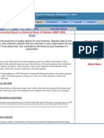NBP internshp report