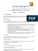 Statuts Comité Sénégalais du Bouclier Bleu