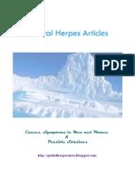 Genital Herpes Treatments