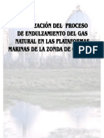 Optimizacion Del Proceso de Endulzamiento Del Gas Natural