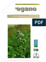 Promoting the Conservation and Use of Under Utilized and Neglected Crops. 14 - Oregano