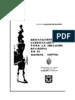 Lineamientos Curriculares Educacin Religiosa Religin Catlica 2012
