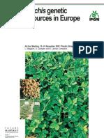 'Arachis' Genetic Resources in Europe