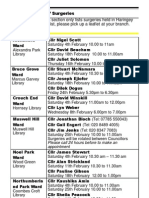 What's on in Haringey Libraries  February 2012