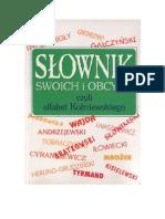 Koźniewski, Kazimierz- Słownik swoich i obcych - 1994 (zorg)