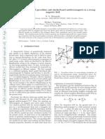 M. E. Zhitomirsky and Hirokazu Tsunetsugu- Lattice gas description of pyrochlore and checkerboard antiferromagnets in a strong magnetic field