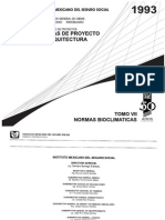 Normas Bioclimaticas IMSS
