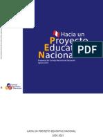 Hacia Un Proyecto Educativo Nacional Set05