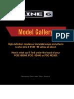 POD HD Model Gallery (Rev a) - English