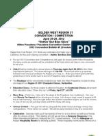 2012 Regional Bulletin 1 for Flash