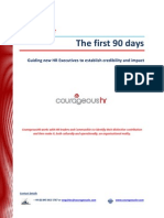 The First 90 Days for HR Leaders Whitepaper CourageousHR